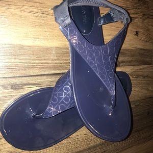 NAVY CALVIN KLEIN Sandals